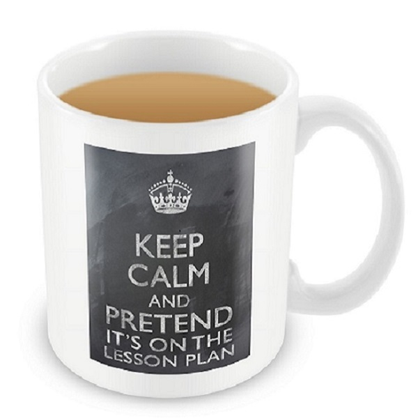 keep calm tasse geschenke f r lehrer social business. Black Bedroom Furniture Sets. Home Design Ideas
